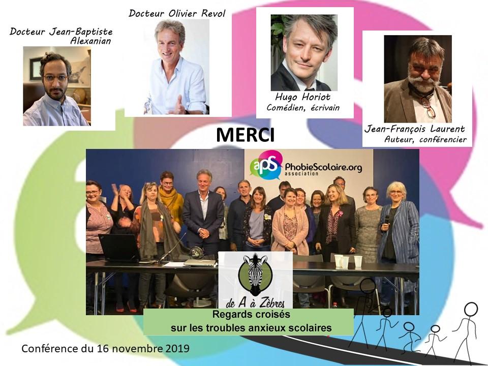 Conférence Nantes Phobie scolaire